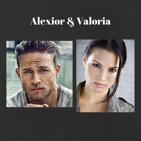 Alexior and Valoria